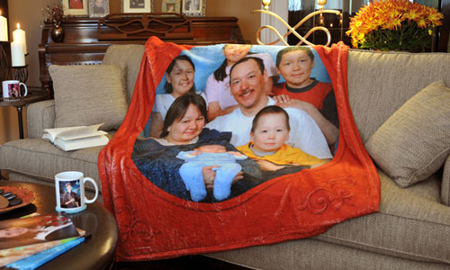 Portrait blanket