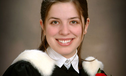 Graduation Portrait of young woman