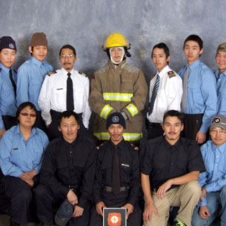 Group portrait of Firefighters